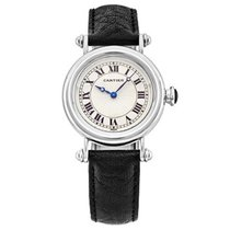 Cartier Platinum Manual winding Silver 32mm pre-owned Diabolo