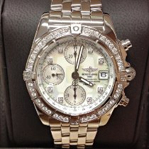 Breitling Chrono Cockpit Steel Mother of pearl