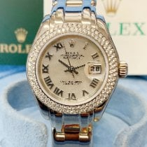 Rolex Pearlmaster White gold 29mm Mother of pearl United Kingdom, Wilmslow