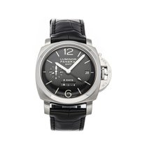 Panerai Luminor 1950 8 Days GMT Steel 44mm Black Arabic numerals United States of America, Pennsylvania, Bala Cynwyd