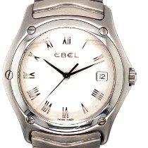 Ebel Classic Steel 36mm Silver Roman numerals