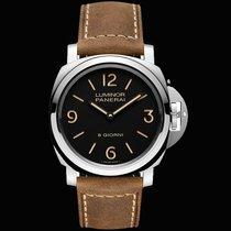 Panerai Luminor Base 8 Days nuevo 2020 Cuerda manual Reloj con estuche y documentos originales PAM00914