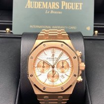 Audemars Piguet Royal Oak Chronograph Rose gold Silver United States of America, New York, New York