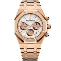 Audemars Piguet 26315OR.OO.1256OR.01 Rose gold 2019 Royal Oak Chronograph new United States of America, New York, New York
