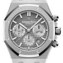 Audemars Piguet Royal Oak Chronograph Acero 38mm Gris Sin cifras