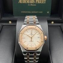 Audemars Piguet Royal Oak Selfwinding Acero y oro 37mm Plata Sin cifras