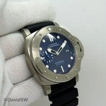 Panerai Luminor Submersible 1950 3 Days Automatic Titanium 47mm Blue No numerals United States of America, Florida, Orlando