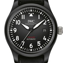IWC Pilot Chronograph Top Gun nuevo 2020 Automático Reloj con estuche y documentos originales IW326901