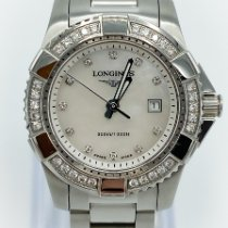 Longines HydroConquest Steel 29mm Mother of pearl No numerals