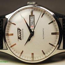 Tissot Heritage Visodate Steel 40mm Silver No numerals