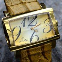Delma Gold/Steel 36mm Quartz 42601.519.2.022 new