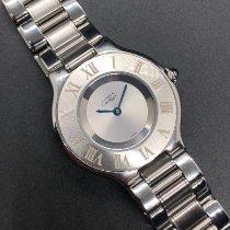 Cartier 21 Must de Cartier Steel 31mm Grey Roman numerals
