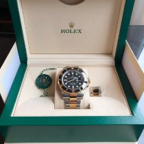 Rolex Sea-Dweller Gold/Steel 43mm Black No numerals Singapore, Singapore