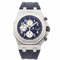 Audemars Piguet Royal Oak Offshore Chronograph 26470ST.OO.A027CA.01 Sehr gut Stahl 42mm Automatik