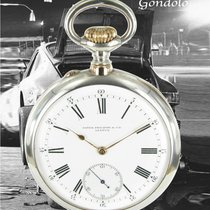 Patek Philippe Silber Handaufzug Weiß Römisch 53mm gebraucht Gondolo