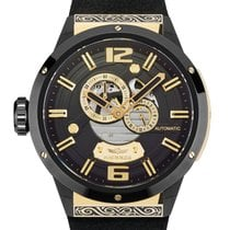 Haemmer new Automatic Display back 50mm Steel Sapphire crystal