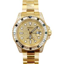 Rolex 116758 SA Yellow gold GMT-Master II 40mm pre-owned United States of America, California, Newport Beach