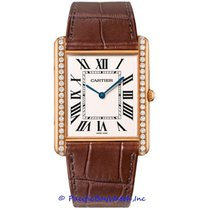 Cartier Tank Louis Cartier Rose gold 34mm Silver Roman numerals United States of America, California, Newport Beach