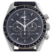 Omega Speedmaster Professional Moonwatch Moonphase Acier 42mm Noir