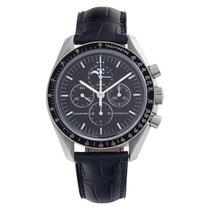 Omega Speedmaster Professional Moonwatch Moonphase Acero 42mm Negro