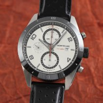 Montblanc Ceramic Automatic Silver 44mm pre-owned Timewalker