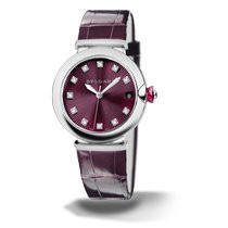 Bulgari Lucea Steel 36mm Purple