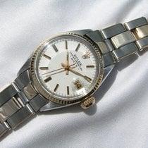 Rolex Oyster Perpetual Lady Date Acero y oro 26mm Plata Sin cifras España, Palma de Mallorca