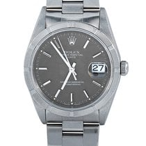 Rolex Oyster Perpetual Date Acero Gris
