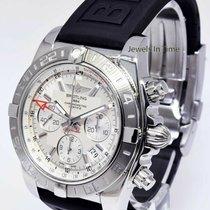 Breitling AB0420 Stahl Chronomat 44 GMT 44mm gebraucht