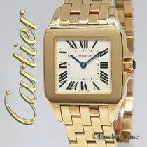 Cartier Santos Demoiselle Жёлтое золото 26mm Cеребро Римские