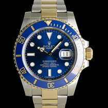 Rolex Submariner Date pre-owned 40mm Blue