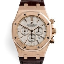 Audemars Piguet Royal Oak Chronograph Rose gold 41mm Silver United Kingdom, London
