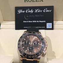 Rolex new Automatic 40mm Rose gold Sapphire crystal