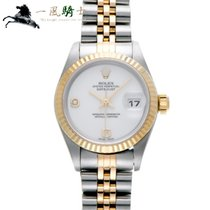 Rolex Lady-Datejust Steel 26mm White
