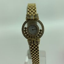 Chopard Yellow gold 24mm Quartz 4097 pre-owned