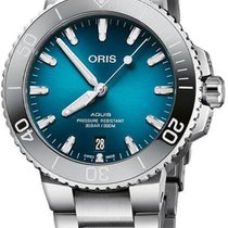 Oris Aquis Date 01 733 7732 4155-07 8 21 05PEB new