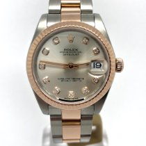 Rolex Lady-Datejust Gold/Steel 31mm Silver United Kingdom, Leicester