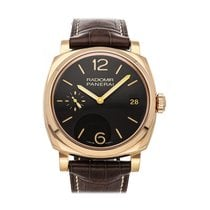 Panerai Rose gold 47mm Manual winding PAM 515 pre-owned