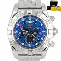Breitling Chronomat GMT Acero 47mm Azul