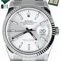 Rolex Datejust Gold/Steel 36mm Silver United States of America, New York, Smithtown