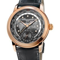 Frederique Constant Manufacture Worldtimer Or/Acier 42mm France, Paris
