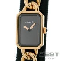 Chanel Première Or jaune 16mm Noir
