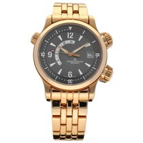 Jaeger-LeCoultre Rose gold Automatic Grey Arabic numerals 42mm pre-owned Master Compressor (submodel)