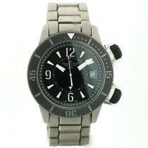 Jaeger-LeCoultre Master Compressor Diving Alarm Navy SEALs Titanio 44mm Negro