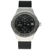 Hublot Steel Automatic Black 38mm pre-owned Classic