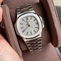 Patek Philippe Nautilus Steel 40mm White No numerals Singapore, Singapore