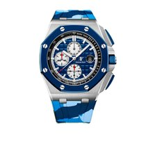 Audemars Piguet 26400SO.OO.A335CA.01 Сталь 2019 Royal Oak Offshore Chronograph 44mm новые