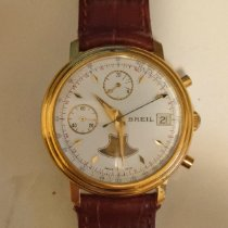 Breil Gold/Steel 36mm Manual winding pre-owned