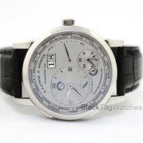 A. Lange & Söhne Lange 1 Platinum 41.9mm Silver Roman numerals United States of America, Florida, Aventura