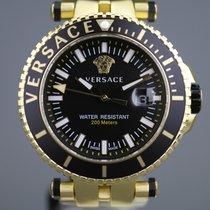 Versace Steel 45mm Quartz VAK030018 new